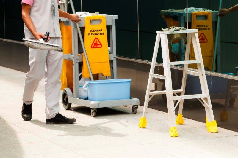 Serviços de limpeza corporativa